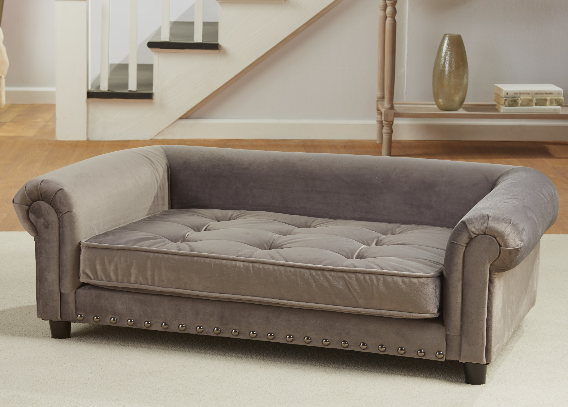 enchanted-home-pet-manchester-velvet-tufted-dog-sofa-with-cushion