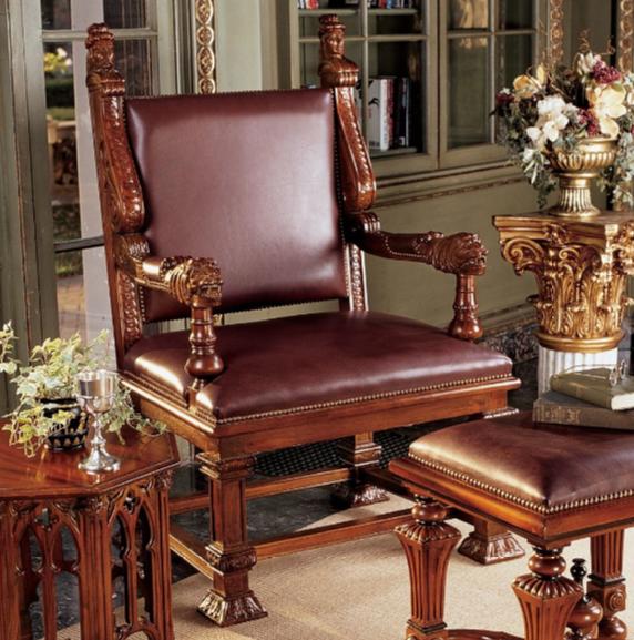 Lord Cumberland's Throne Arm Chair