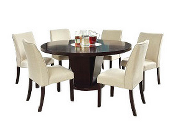 9 Dark Round Dining Tables For A Contemporary Dining Room Perfect Your Home