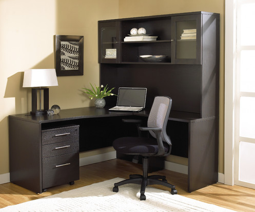 Modern Black Office Suite