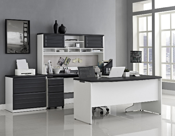 Modern Black And White Office Suite