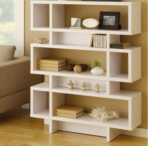 Ryder Bookcase White